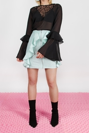 Da Wearhouse Shiny Mint Skirt - Product Mini Image