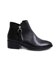Steve Madden Dacey Leather Zipper Bootie - Product Mini Image