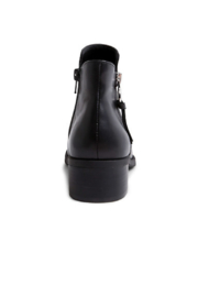 Steve Madden Dacey Leather Zipper Bootie - Side cropped