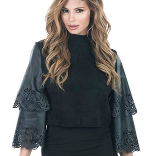 Shoptiques Product: Double Layer Sleeve Top