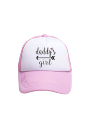 Tiny Trucker  Daddy's Girl Trucker Hat - Product Mini Image