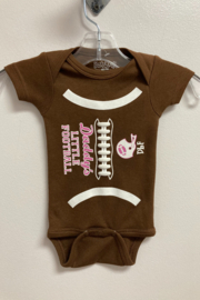 Sara Kety Daddy's Little Football Snapsuit - Product Mini Image