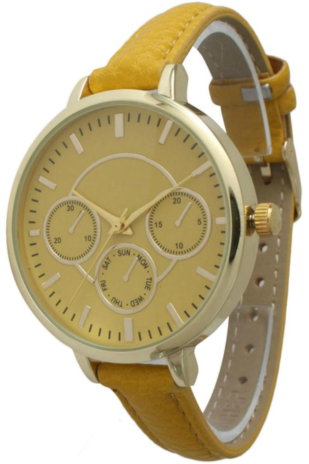 Olivia Pratt Skinny Band Watch - Main Image