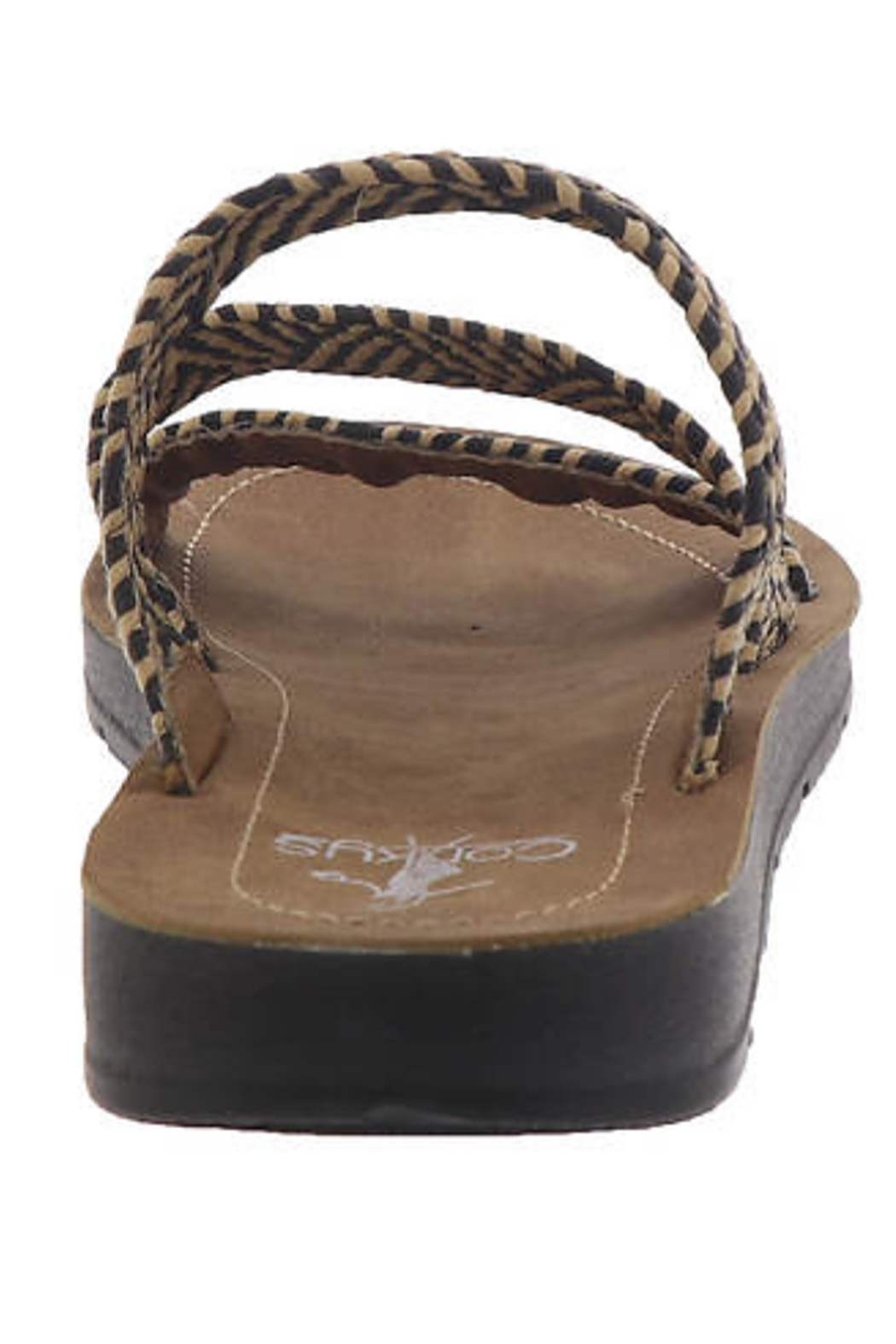 Corky's Shoes DAFNE WOVEN SANDAL - Back Cropped Image