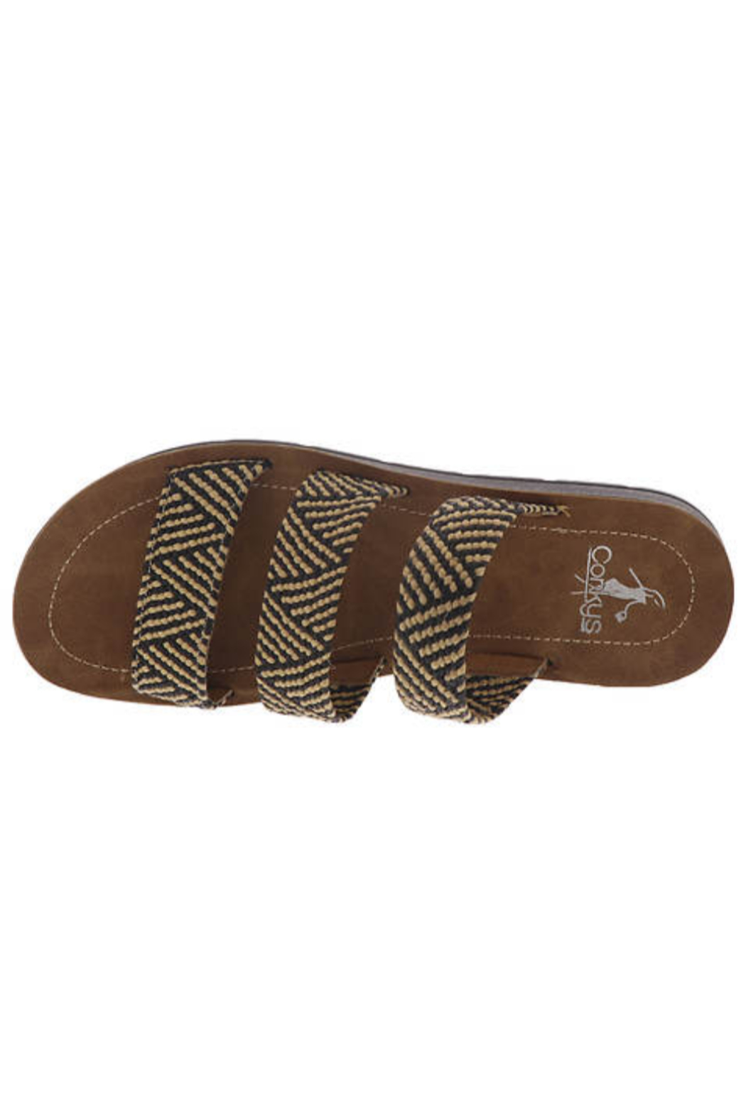 Corky's Shoes DAFNE WOVEN SANDAL - Front Full Image