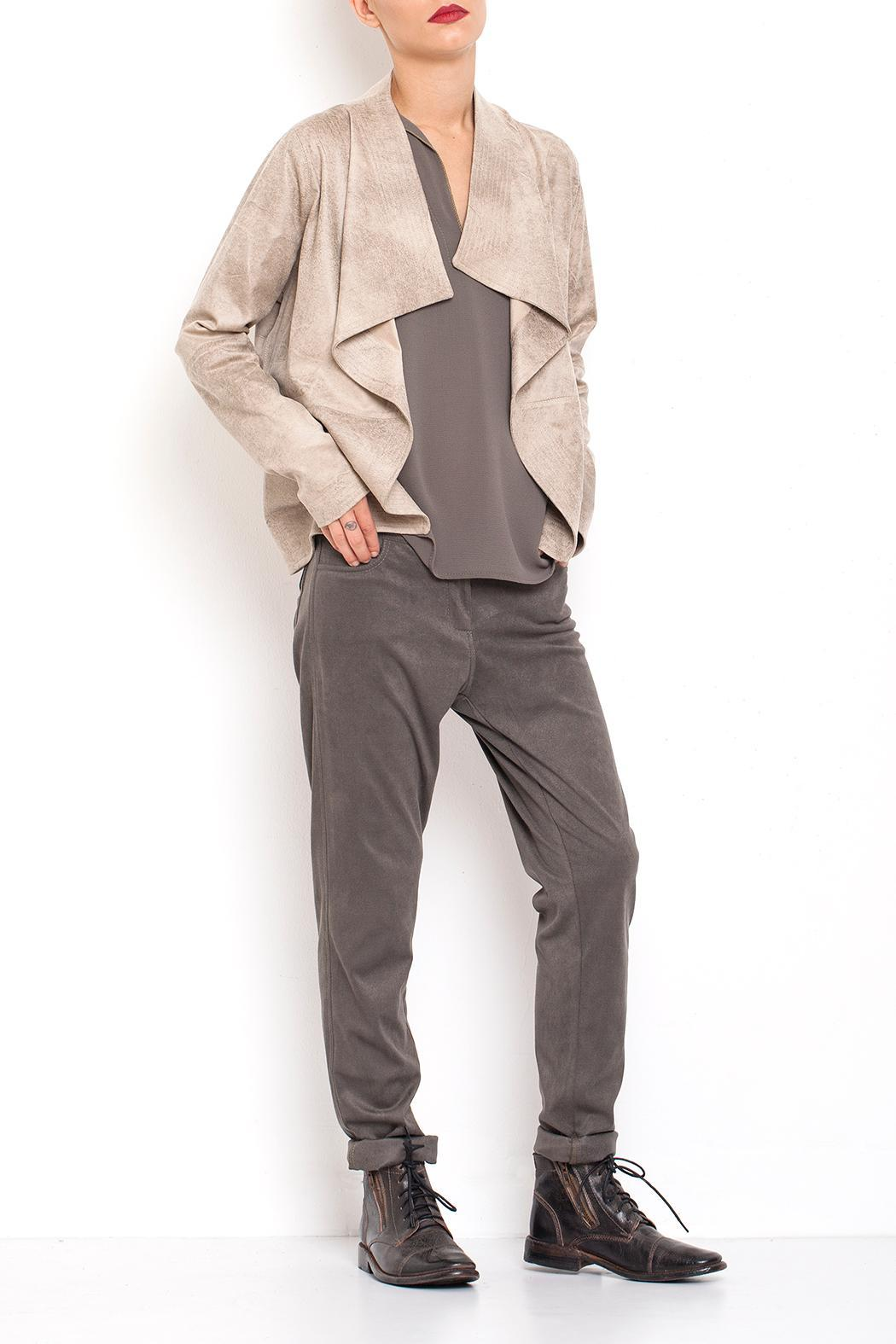 Dagani Studio Lined Draped Jacket - Main Image