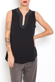 Dagani Studio Sleevless Crepe Top - Product Mini Image