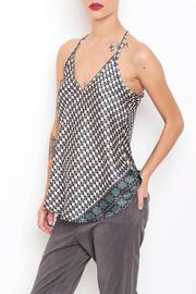 Dagani Studio Slender Satin Tank - Product Mini Image