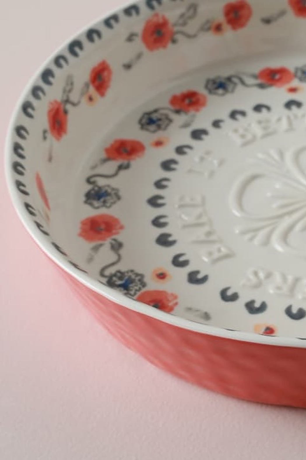 Anthropologie Daily Bakewear Pie Dish - Front Full Image