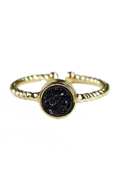 Fabulina Designs Daintily Yours Druzy Ring - Alternate List Image