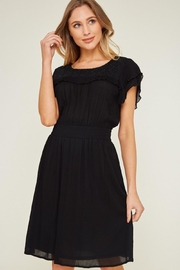 LLove USA Dainty Black Dress - Front cropped