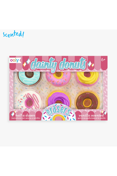 Ooly Dainty Donuts Scented Erasers - Product List Image