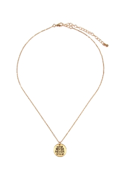 Riah Fashion Dainty Message Necklaces - Product List Image