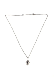 Lets Accessorize Dainty Mini-Hamsa Necklace - Product Mini Image