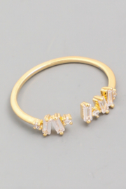 FAME ACCESORIES Dainty Stud Ring - Product Mini Image
