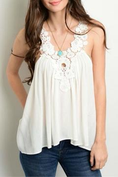 Shoptiques Product: White Lace Tank