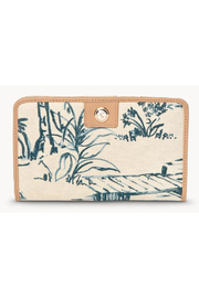 Spartina 449 Daise Seascape Snap Wallet - Product Mini Image