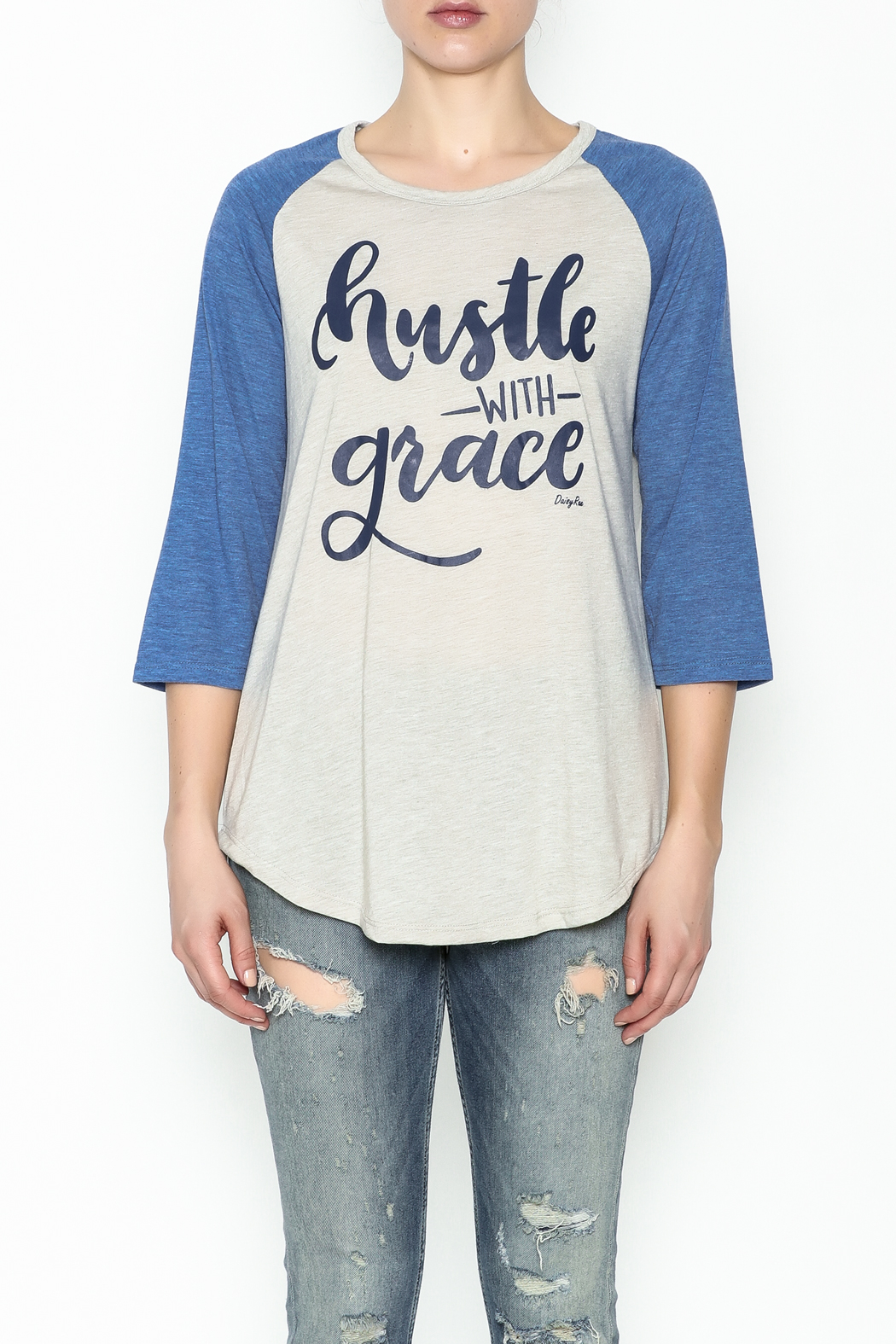 Daisey Ray Hustle Long Sleeve Top - Front Full Image