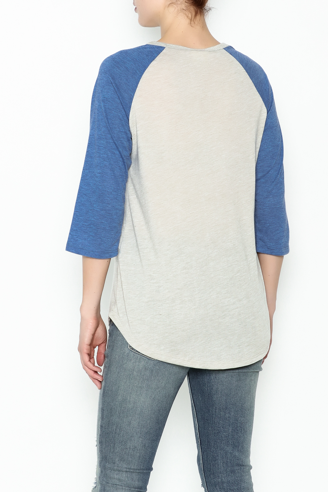 Daisey Ray Hustle Long Sleeve Top - Back Cropped Image
