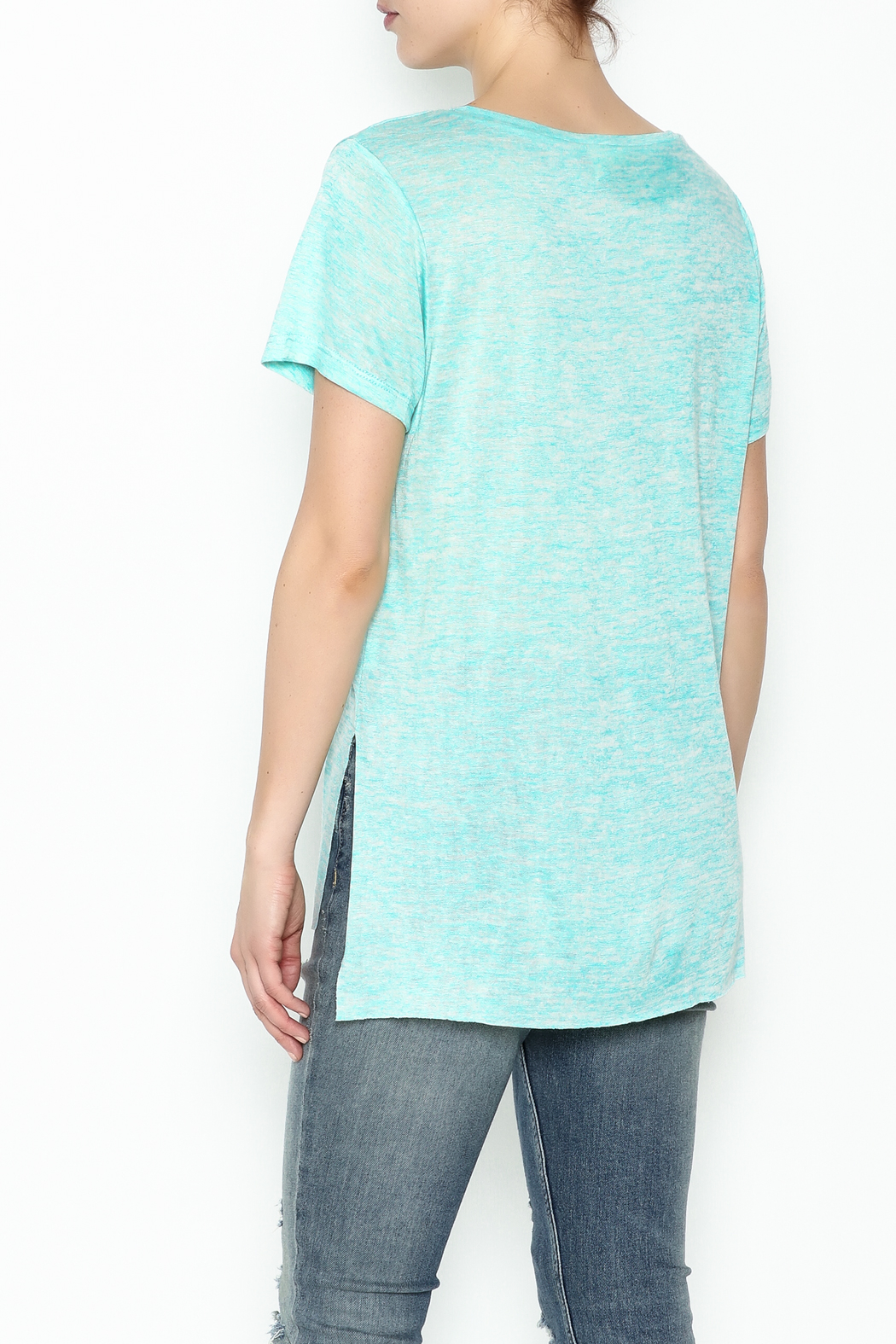 Daisey Ray One More Drink Tee - Back Cropped Image