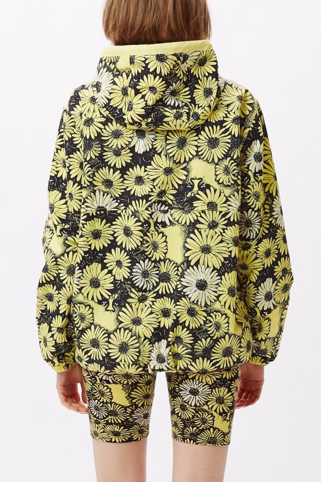 Obey Daisy Anorak - Front Full Image