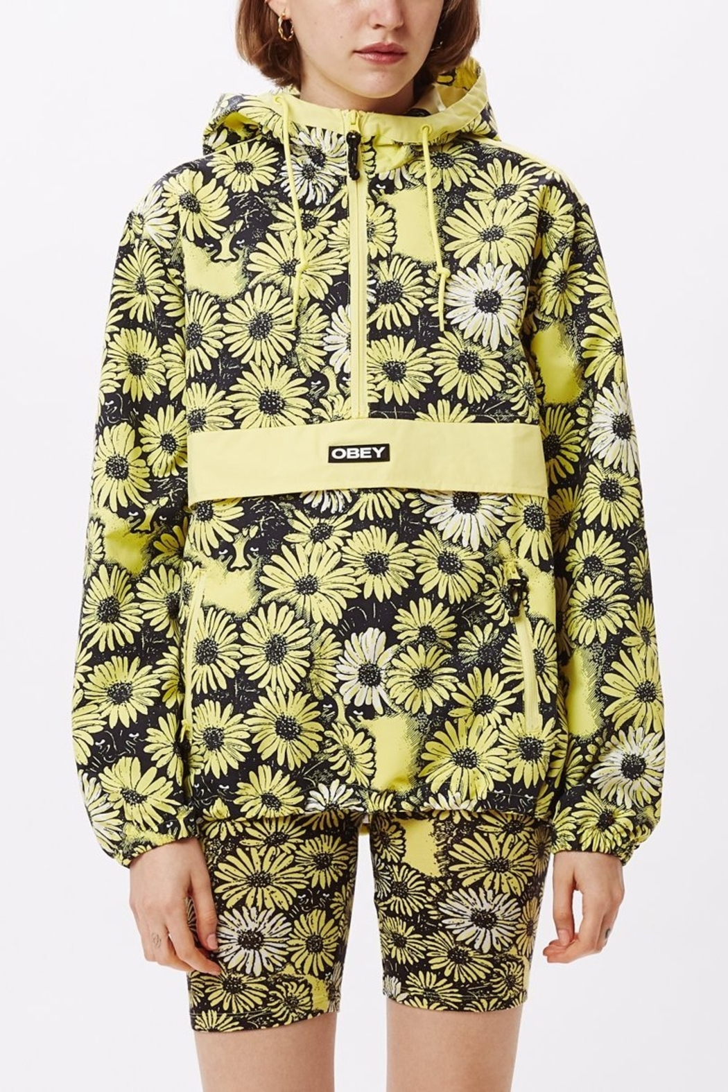 Obey Daisy Anorak - Main Image