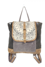 MarkWEST-Myra Bag Daisy Delight Backpack Bag - Front cropped
