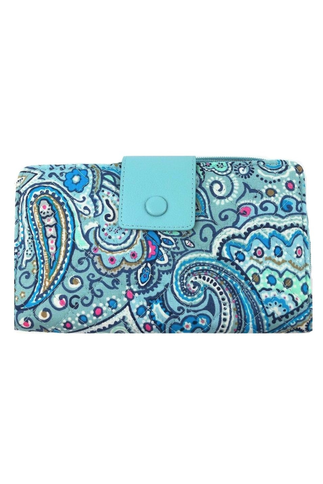 Vera Bradley Daisy Dot Paisley-Deluxe-Alltogether - Front Cropped Image