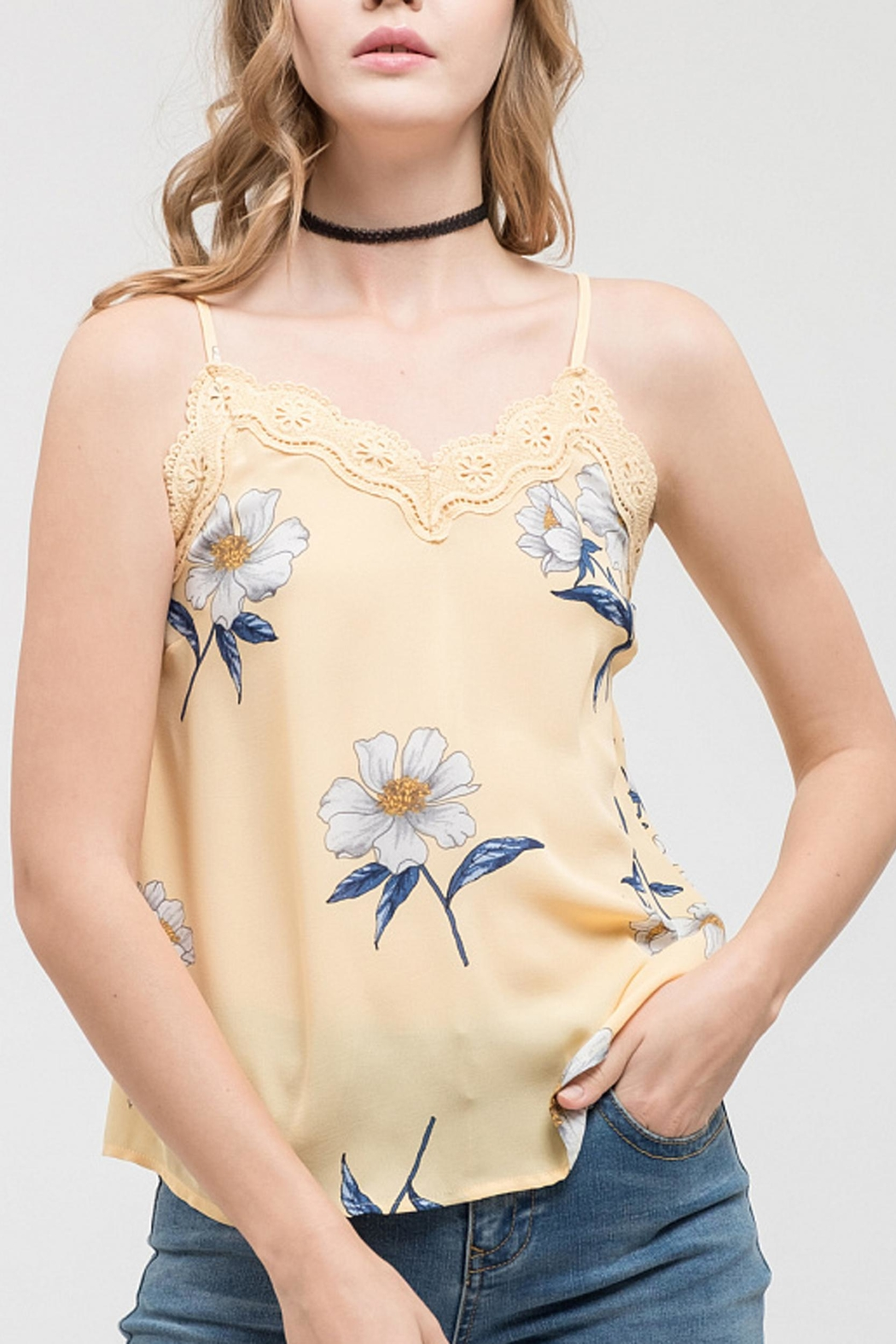 Blu Pepper Daisy Fields Cami - Main Image