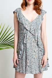 Glam Daisy Floral Dress - Front cropped