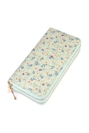 Riah Fashion Daisy Floral Wallet - Front cropped