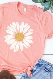 kissed Apparel Daisy graphic tee - Product Mini Image