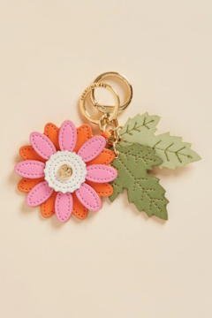 Spartina 449 Daisy Icon Keychain - Product List Image