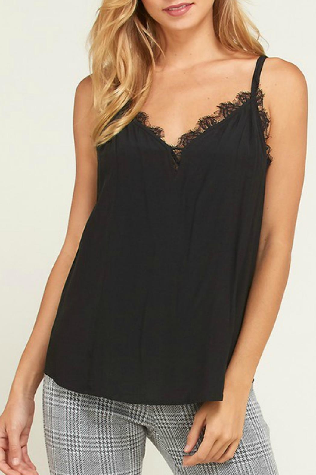 Wishlist Daisy Lace Camisole - Front Cropped Image