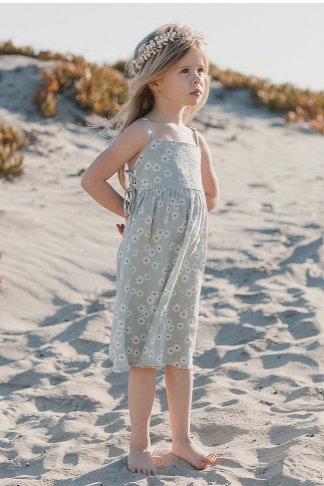 Rylee & Cru Daisy Lacey Dress - Front Cropped Image