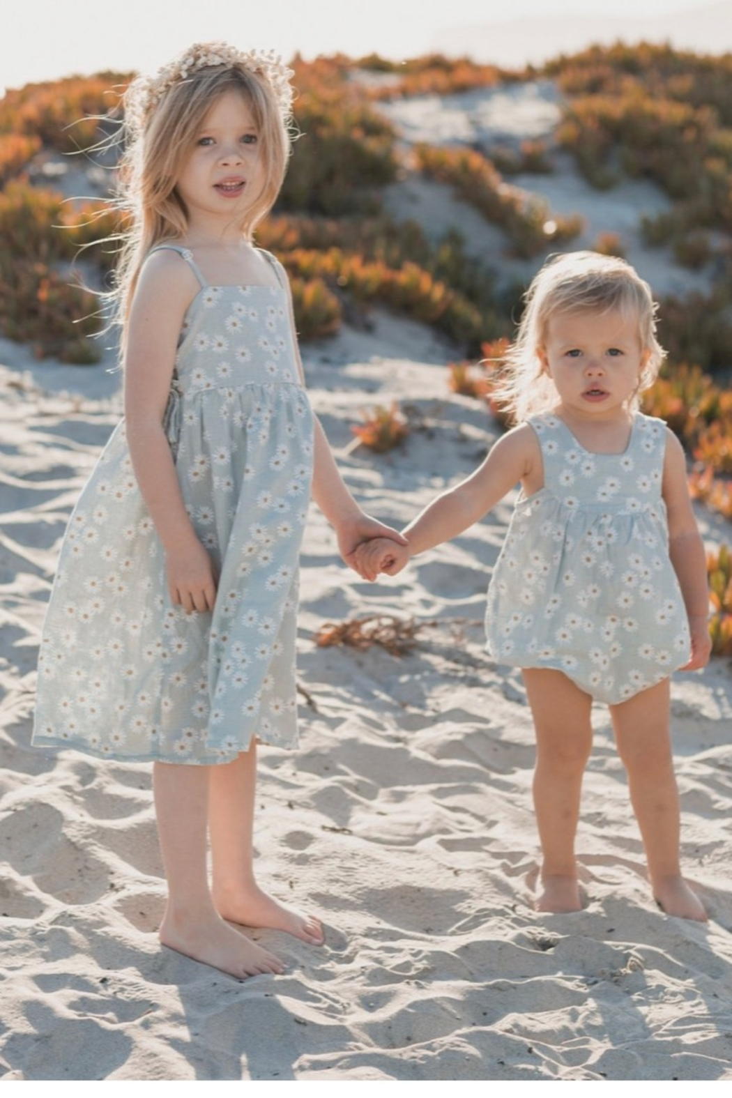 Rylee & Cru Daisy Lacey Dress - Back Cropped Image