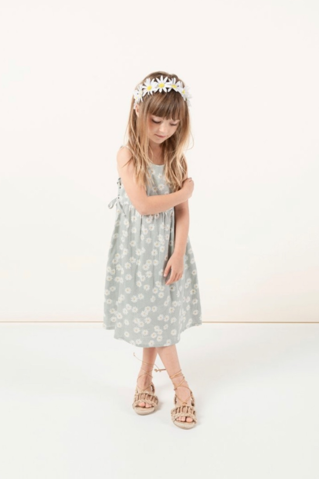 Rylee & Cru Daisy Lacey Dress - Side Cropped Image