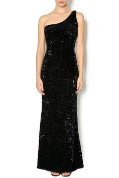 Daisy One Shoulder Sequin Gown - Product List Image