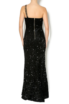 Daisy One Shoulder Sequin Gown - Alternate List Image