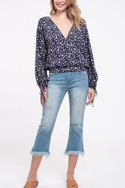 Blue Pepper Daisy Open-Back Top - Product Mini Image