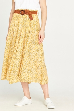Apricot Daisy Pebble Skirt - Product List Image