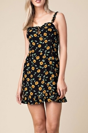Wild Honey Daisy Ruffle Dress - Product Mini Image