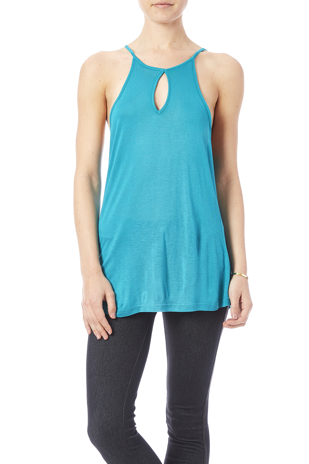 Daisy's Fashions Bamboo Tank - Side Cropped Image