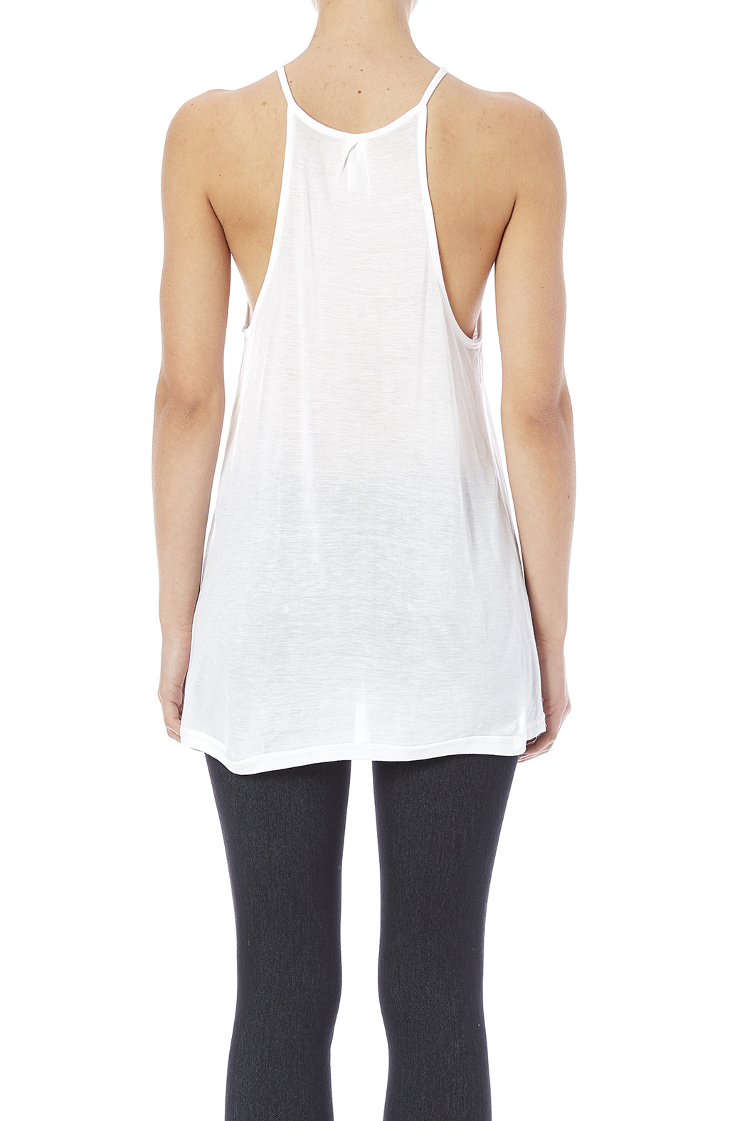 Daisy's Fashions Bamboo Tank - Back Cropped Image