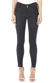 Daisy's Fashions Crystal Accented Jeggings - Side cropped