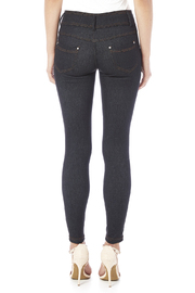Daisy's Fashions Crystal Accented Jeggings - Back cropped