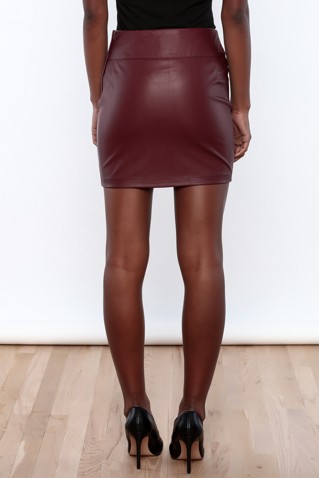 s fashions faux leather skirt from ohio shoptiques