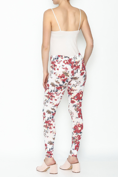 Daisy's Fashions Flower Print Leggings - Alternate List Image