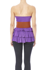 Daisy's Fashions Frilly Top - Back cropped