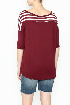 Daisy's Fashions Stripe Pocket Tee - Alternate List Image